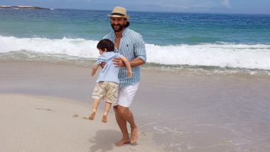 Taimur Ali Khan Can't Get Enough of the Beach Waves and Clear Skies in South Africa - See Pic