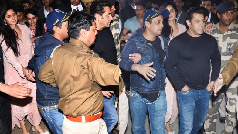 Isha Ambani-Anand Piramal Wedding: Salman Khan-Katrina Kaif Reach Udaipur to Take Part in the Festivities – View Pics