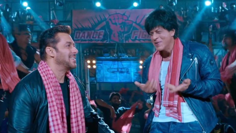 Shah Rukh Khan Thanks Salman Khan For Being a Part of Zero Song Issaqbaazi and Fans Cannot Get Over Their Friendship!