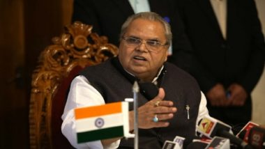 Jammu & Kashmir Governor Satya Pal Malik Extends Eid al-Adha Greetings; Administration Installs Over 300 Telephone Booths
