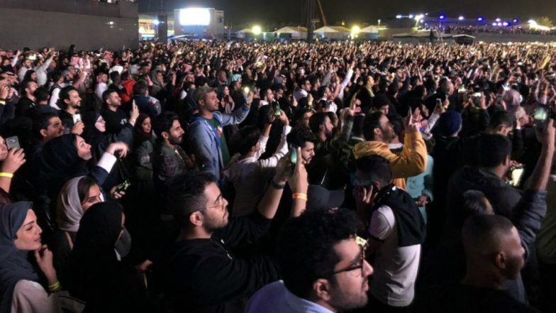 Saudi Arabia Allows Women and Men to Dance Together at a Public Concert; Videos Go Viral