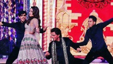 Isha Ambani-Anand Piramal Wedding: Shah Rukh Khan Performs With Wife Gauri Khan at the Sangeet – View Pics