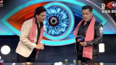 Bigg Boss 12, 16th December 2018 Episode LIVE Updates: Shah Rukh Khan and Salman Khan Play a Hilarious Game With Each Other