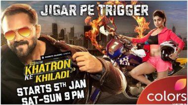 Khatron Ke Khiladi 9 New Poster: 'Zeher' Actress Shamita Shetty to Perform High-Octane Stunts in Rohit Shetty's Show