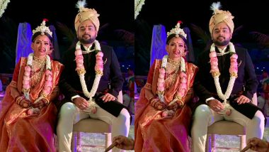 Chandra Nandini Actress Shweta Basu Prasad Marries Rohit Mittal As Per Bengali Rituals - View First Pic
