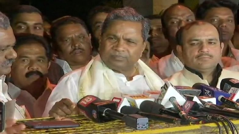 Karnataka Cabinet Expansion on December 22; Two JD(S), Six Congress MLAs to be Inducted, Says Siddaramaiah