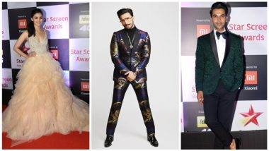 Star Screen Awards 2018 Full List of Winners: Ranveer Singh, Alia Bhatt, Pankaj Tripathi, Rajkummar Rao Win Coveted Trophies