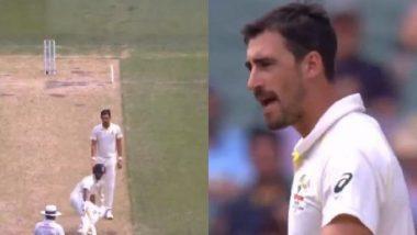 Mitchell Starc Abuses Rishabh Pant During India vs Australia 2018, Day 2 at MCG (Watch Video)