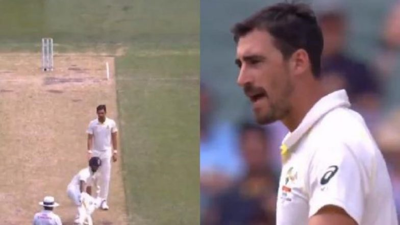 Mitchell Starc Abuses Rishabh Pant During India vs Australia 2018, Day 2 at MCG (Watch Video)