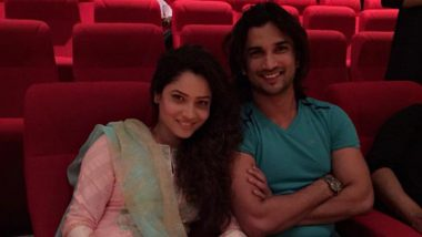 Sushant Singh Rajput Comments on Ex-girlfriend Ankita Lokhande's Picture, Wishes Her 'Success and Happiness'