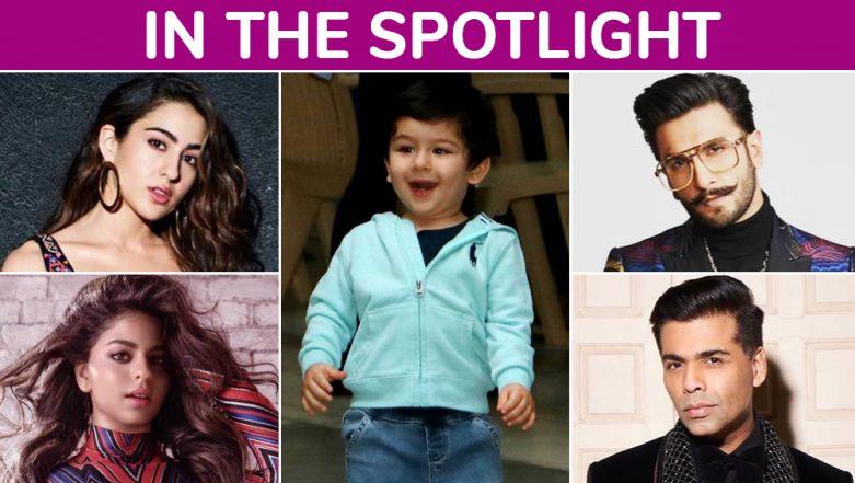No Filter Sara Ali Khan, Taimur's Cute Antics, Suhana Khan's Controversial Magazine Debut – 10 Celebrities Who Ruled Bollywood in 2018
