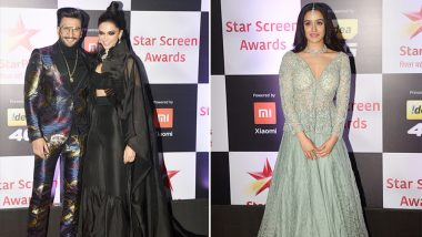 Star Screen Awards 2018 Worst Dressed: Deepika Padukone, Ranveer Singh and Shraddha Kapoor's Fashion Faux Pas is Hard to Ignore - View Pics