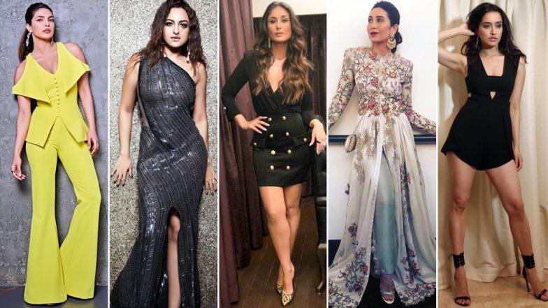 Priyanka Chopra, Kareena Kapoor Khan and Shraddha Kapoor: Meet The Sartorial Stunners of 2018 - View Pics