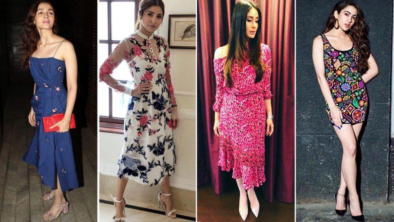 This Christmas Borrow These Outfits from Sara Ali Khan, Kareena Kapoor Khan and Alia Bhatt To Make an Impression - View Pics