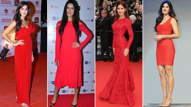 Katrina Kaif's Obsession for 'Red' Should Be Yours for Christmas 2018 - View Pics
