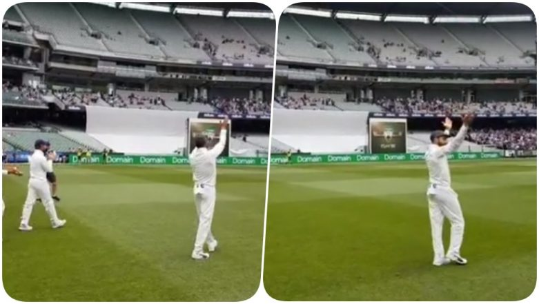Team India's Victory Lap Led by Captain Virat Kohli at MCG After Defeating Australia in 3rd Test Will Give You Goosebumps! (Watch Video)