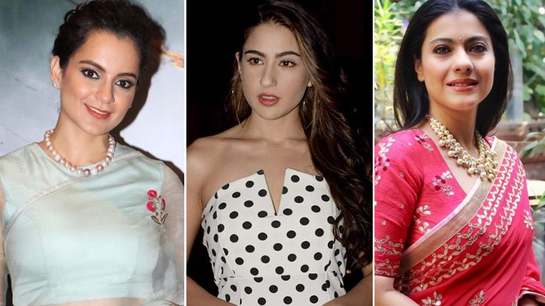 Sara Ali Khan, Kajol and Kangana Ranaut's Recent Style Statements Deserve a Round of Applause - View Pics