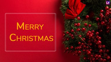 Advance Christmas 2018 Wishes: WhatsApp Stickers, GIF Images, SMS & Facebook Messages & Greetings to Send Before X-Mas