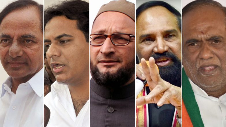 Telangana Assembly Elections 2018: From KCR to Akbaruddin Owaisi – 5 Key Candidates to Watch Out