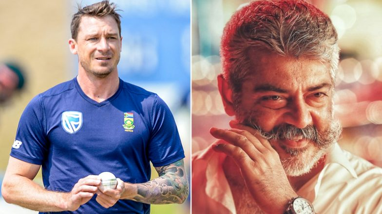 Ajith Fans Answer to Dale Steyn 'What's Happening?' Tweet, Floods His Account With Posters of Movie Viswasam