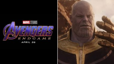 Marvel's Avengers 4 Endgame Logo Now Gets a Thanos Makeover - View Pic