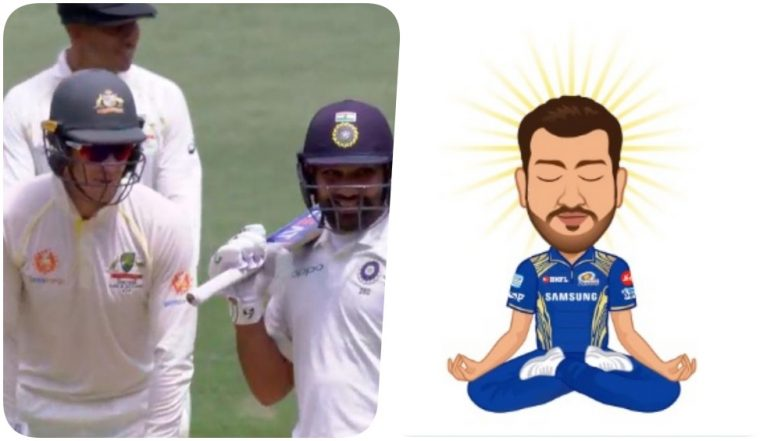 Tim Paine vs Rohit Sharma: Here's What Mumbai Indians has to Say About the Funny Banter Happened During Ind vs Aus 2018, Day 2