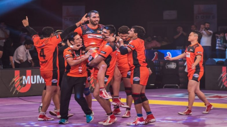 U Mumba vs UP Yoddha: PKL 2018-19 Match Live Streaming and Telecast Details: When and Where To Watch Pro Kabaddi League Season 6 Match Online on Hotstar and TV?