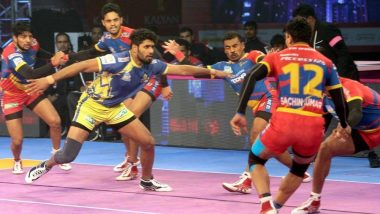 PKL 2018-19 Video Highlights: UP Yoddha Play 25-25 Draw with Tamil Thalaivas