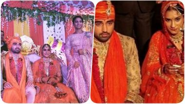 Vinesh Phoghat Marries Somvir Rathee: Indian Wrestling Champ And Husband Vows to Take up the Cause of Female Foeticide (See Pics & Video)