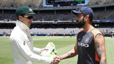 Video: Virat Kohli and Tim Paine Exchange 'Frosty Handshake', Mitchell Johnson Calls Indian Captain 'Silly' and 'Disrespectful'