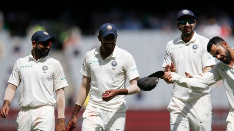 Virat Kohli Hails Jasprit Bumrah for Snapping Six Wickets, Indian Captain Doffs his Cap During Day 3 India vs Australia 2018, MCG (See Pics)