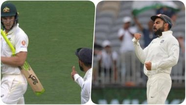 Virat Kohli and Tim Paine Sledge Each Other During the Day 3 of India vs Australia, 2nd Test; Indian Captain Gets Slammed by Aussie Greats (Watch Video)