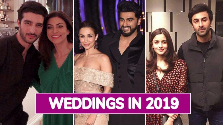 Sushmita Sen-Rohman Shawl, Malaika Arora-Arjun Kapoor, Alia Bhatt-Ranbir Kapoor - A List of Most Awaited Big Fat Bollywood Weddings in 2019
