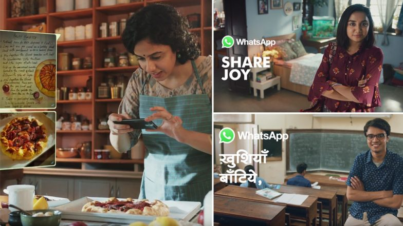 WhatsApp Fights Fake News: Facebook Owned Messenger App Launches Video Ad Campaign 'Share Joy, Not Rumours'