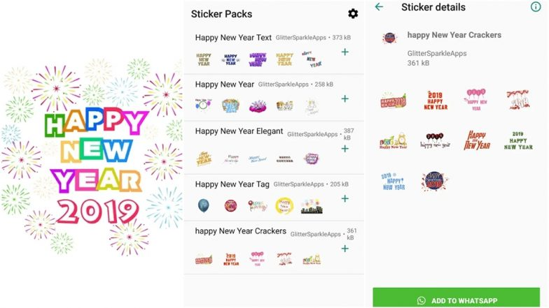 happy new year 2019 whatsapp stickers free android stickers packs for sending new year wishes