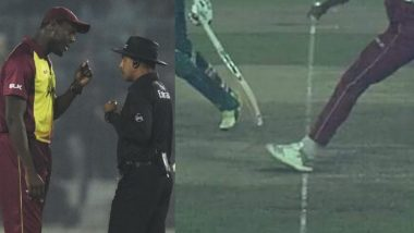 No-Ball Controversy Takes Center Stage During BAN vs WI 3rd T20I in Dhaka