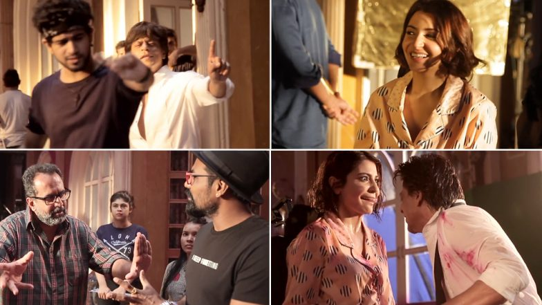 Zero Song Mere Naam Tu Making Video: Shah Rukh Khan-Anushka Sharma's Off-Screen Chemistry Will Make You Fall In Love With The Pair More!