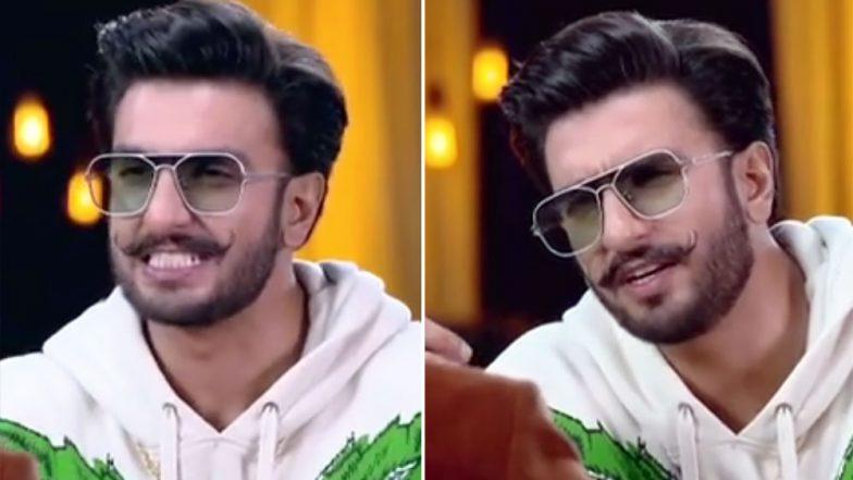Did Ranveer Singh Just Call Deepika Padukone 'Gharelu'? - Watch Video