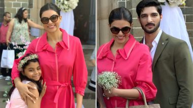 Sushmita Sen and Rohman Shawl Look Picture Perfect in These Latest Photos