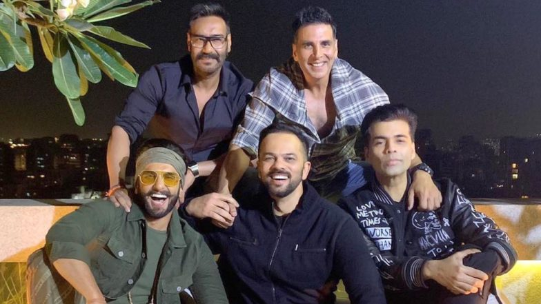 Ranveer Singh, Ajay Devgn and Akshay Kumar Come Together For an Epic Picture and This is What Rohit Shetty's Cop Universe Will Look Like