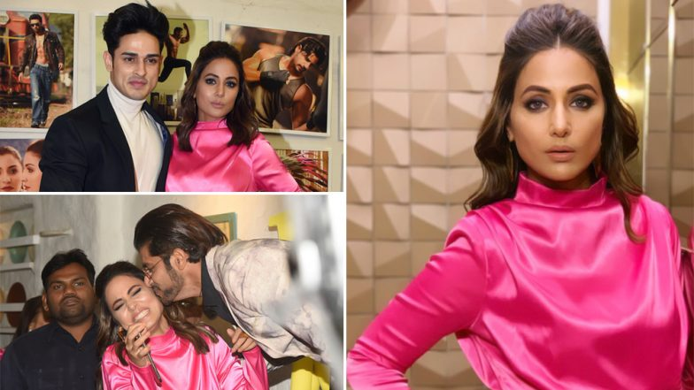 Hina Khan at Dabboo Ratnani Calendar 2019 Launch: Actress Turns Heads in This Pink Short Dress – See Hot Pics