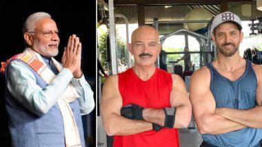 Prime Minister Narendra Modi Tweets to Hrithik Roshan; Says He's Praying for Rakesh Roshan's Good Health