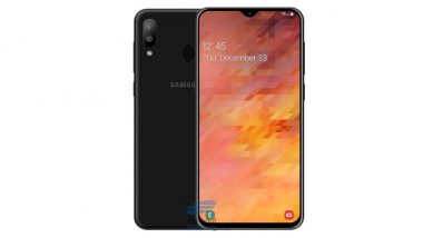 Samsung Galaxy M10 Smartphone To Come With 6.02-inch Infinity-V Display & Exynos 7870 SoC