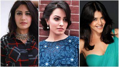 #10YearChallenge: Anita Hassanandani, Surbhi Chandna, Ekta Kapoor Take Over the Internet With Their Transformations - View Pics