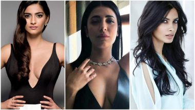 #10YearChallenge: These Throwback Pictures of Sonam Kapoor, Shruti Haasan, Diana Penty Prove AGE Is Just a NUMBER – View Pics