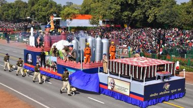 Republic Day 2019: CISF Gets Best Tableau Trophy for Showcasing Multi-Dimensional Functions of the Force