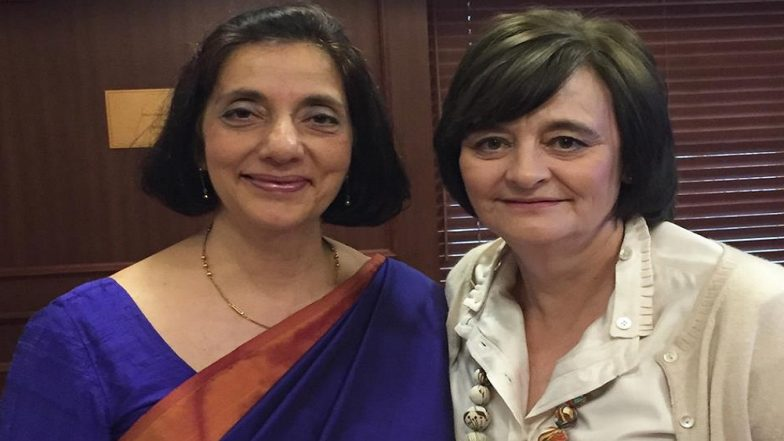 Former Banker Meera Sanyal Passes Away at 57; AAP Members Condole the Untimely Death of Party's National Committee Member on Twitter