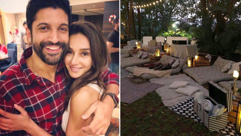 Shibani Dandekar Plans A Cozy and Romantic Birthday Surprise for Boyfriend Farhan Akhtar - See Pics Inside