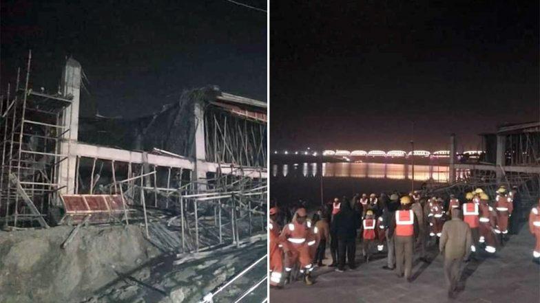 Kumbh Mela 2019: Portion of Under-Construction Building for Heliport Collapses in Prayagraj