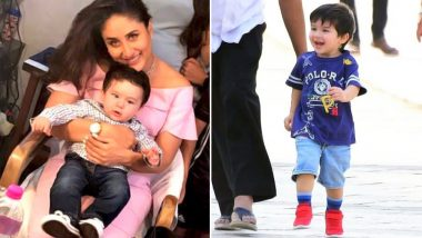 After Accompanying Kareena on Veere Di Wedding Sets, An Overjoyed Taimur Ali Khan Now Joins Papa Saif for Sacred Games 2 - See Pics